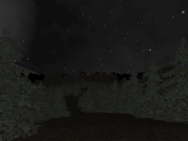 Screenies from an outdoors map