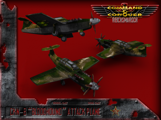 CKN-8 Bloodhound Strike Aircraft
