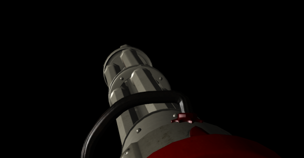 Gatling Gun Textured WIP