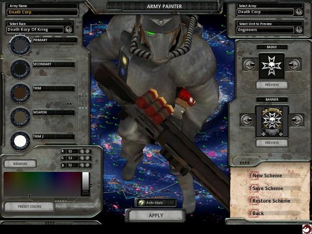 WIP Krieg Engineer by Vector