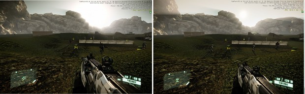 Weapons positionning changement. Crysis 1 Scopes