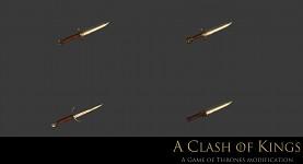 Valyrian daggers by Docm30