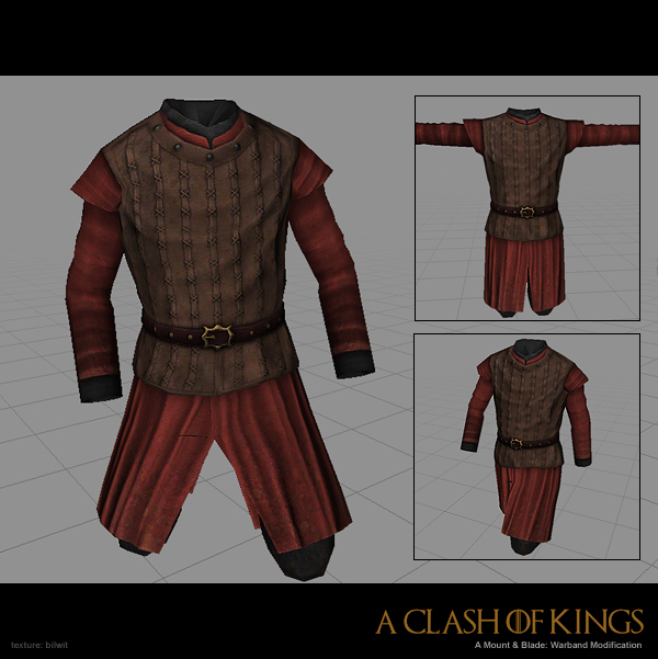 Lannister leather armor