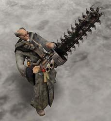 Warhammer 40K crazy priest