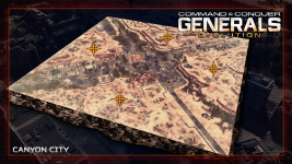 C&C Generals Evolution : Release Candidate 2 Map Set
