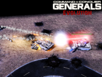 C&C Generals Evolution - Point Defence Lasers!