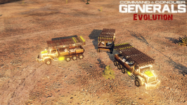 [ Generals Evolution ] GLA Katyusha