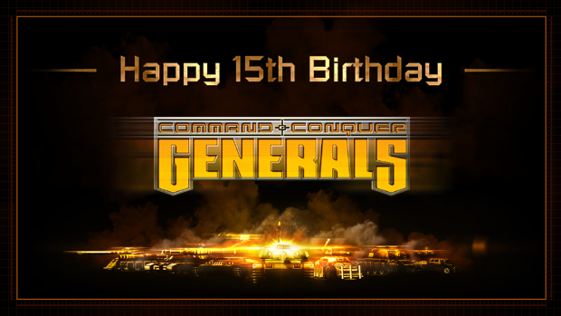 C&C Generals Evolution : Happy Birthday C&C Generals!