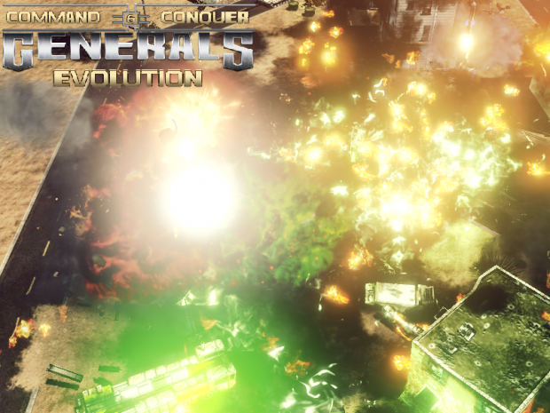 Generals Evolution - Fireworks