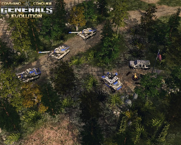 Generals Evolution - Screenshots from maps