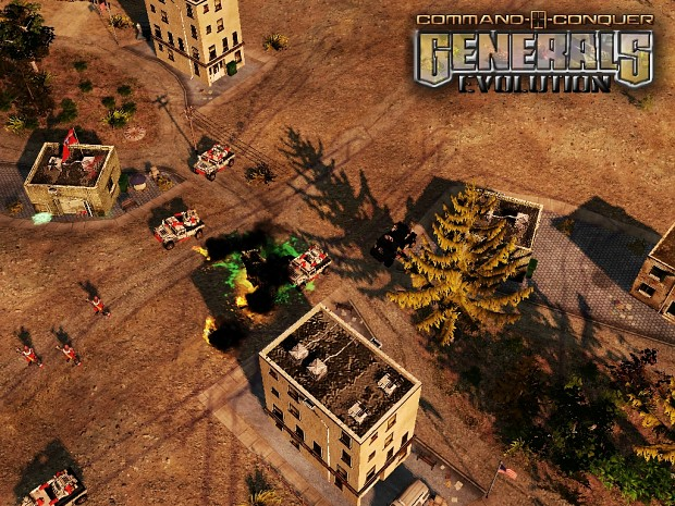 Generals Evolution - Map Updates& recent news.