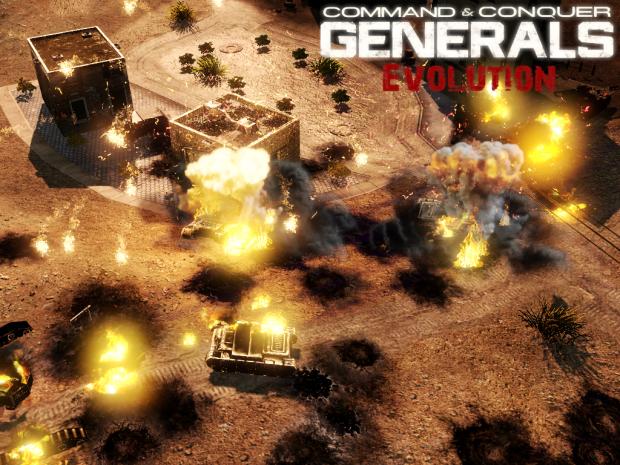 C&C Generals Evolution - RC2 WIP Shots