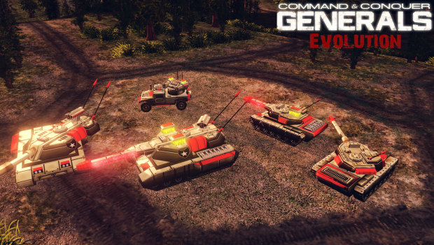 [ Generals Evolution ] New America Models