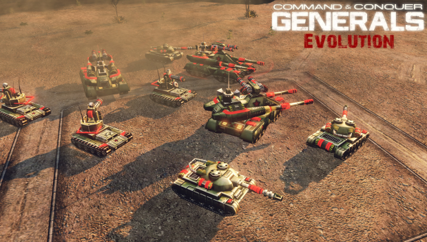 [ Generals Evolution ] New China Models