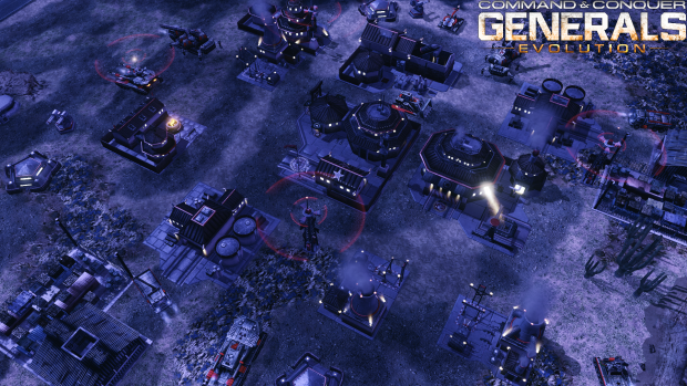 C&C Generals Evolution : China & GLA Night