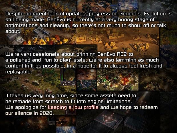 C&C Generals Evolution : Tiny Update