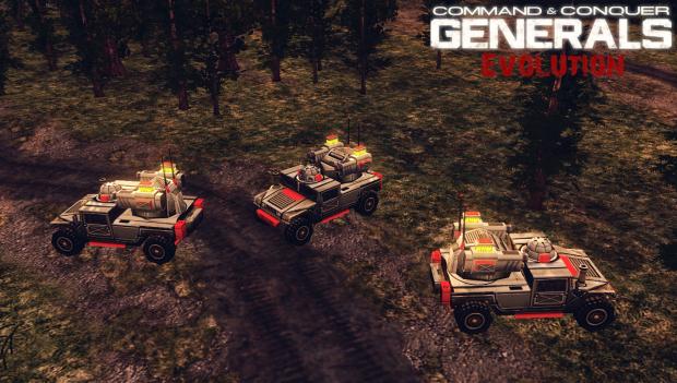 [ Generals Evolution ] New Avenger Models