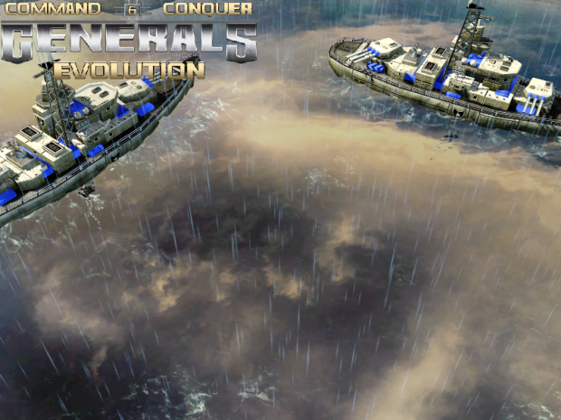 Generals Evolution - Water with Sky reflection.