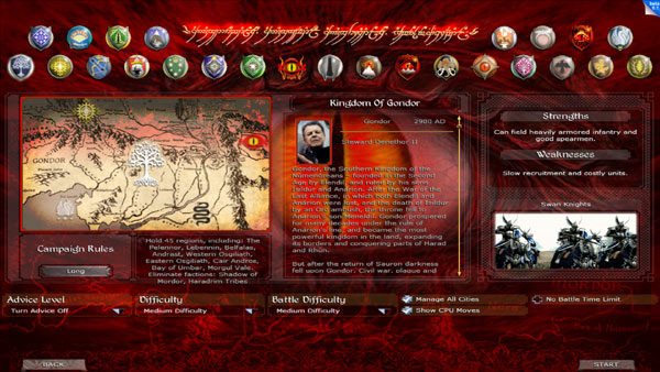 Faction selection screen image - Divide and Conquer mod ...