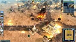 Base under fire