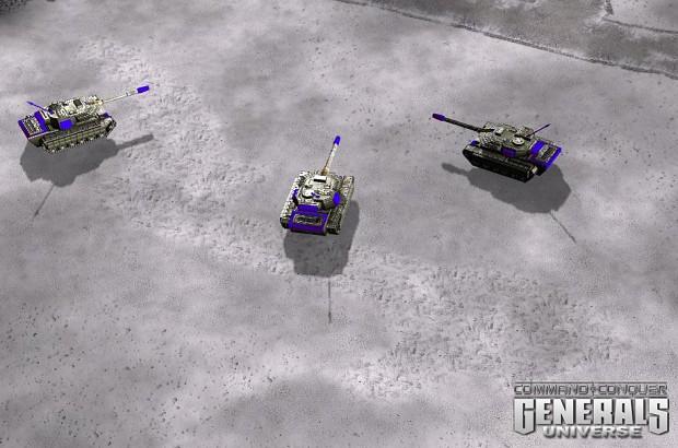 Crusader Tank reporting
