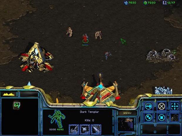 Zealots and Dark Teamplars