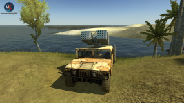 HMMWV MLRS (WIP)