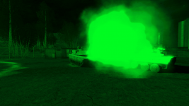 MLRS vehicles & Night Vision