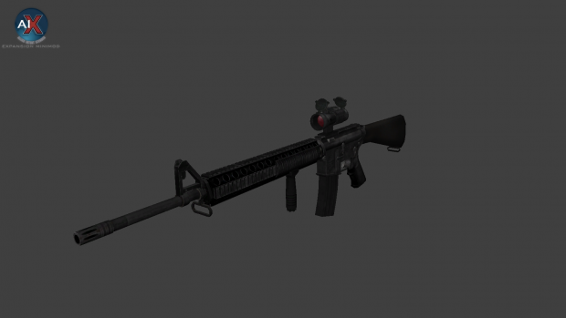 M16A4 + M320, Render and Ingame Preview