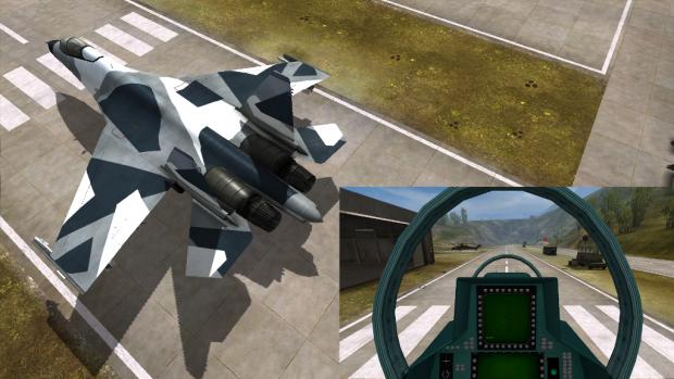 Su-30MKK Digital Camouflage