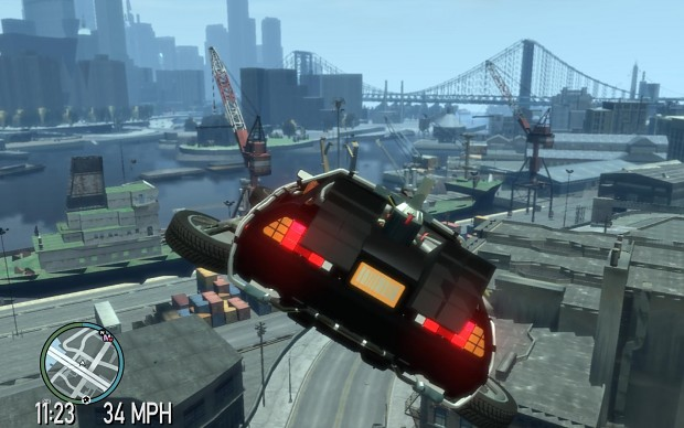 Car Making Games >> Flying Delorean image - Back to the Future - Liberty City ...