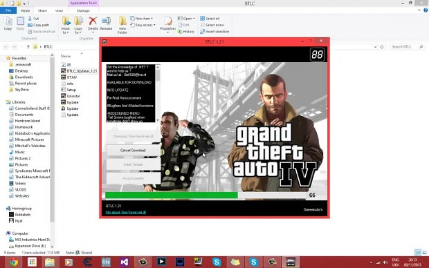 How to install the GTA IV: Back to Liberty City Mo