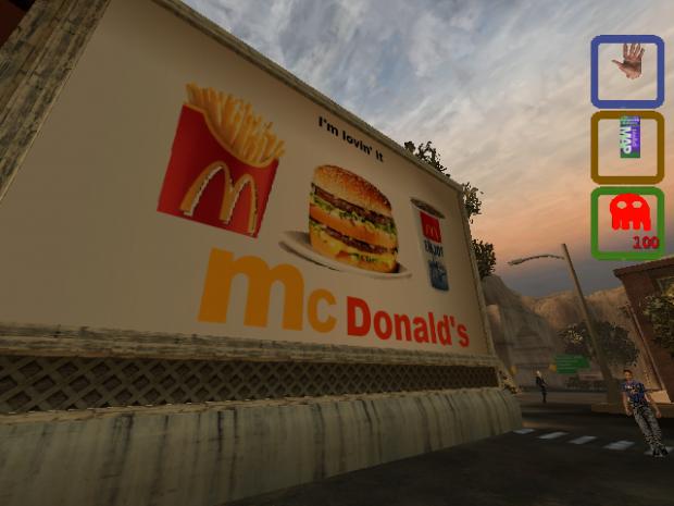 *New Skins* McDonalds Poster