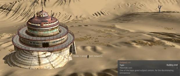 Outpost s-V image - Thinkpadius Expanded Construction mod