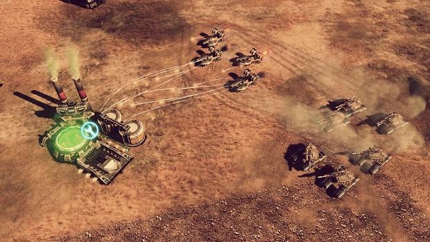 GDI Predator Tank & Sand Storm