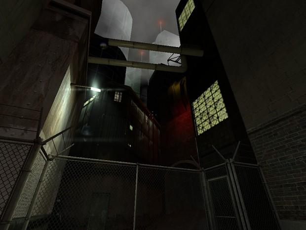 Dark Interval: OB (Old Build) Mod - screenshot of industrial map
