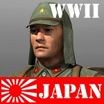 Japanese Soldier and Campaign map