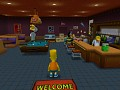 Simpsons Hit And Run: Retextured like A Boss