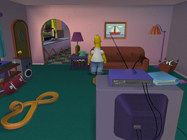 Simpsons House Before LV1