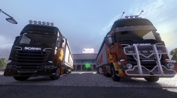 ETS2MP - DLC Paintjobs testing
