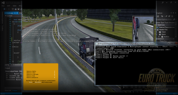 ETS2MP Network code and chat image - Euro Truck Simulator 2