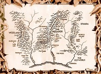 Legend of the Seeker Map