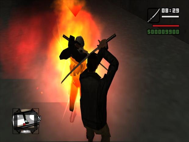 Screenshots from GTA: DX