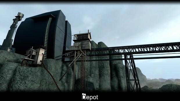 Depot closeup