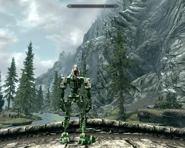 Toa Mata leg armor type B