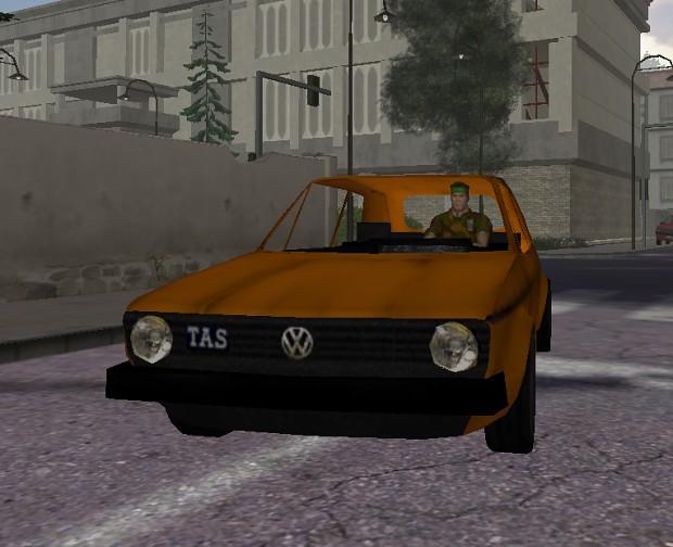 VW Golf JGL - TAS