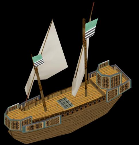 New roundship model