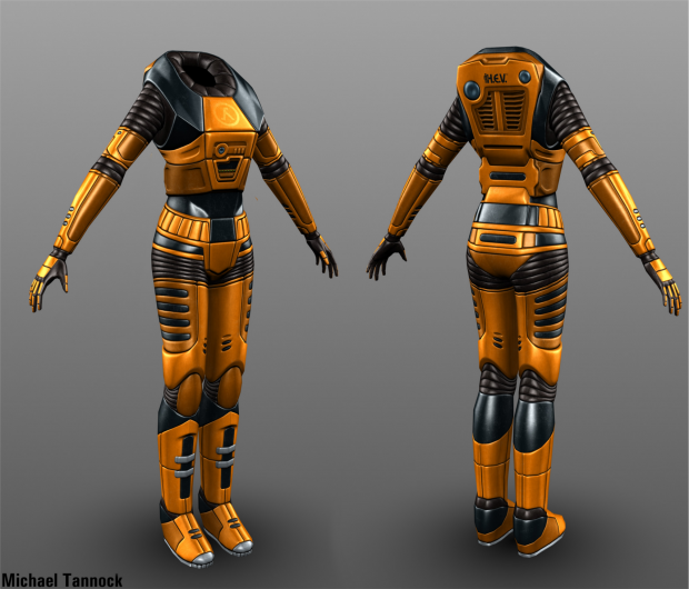 Female HEV Suit
