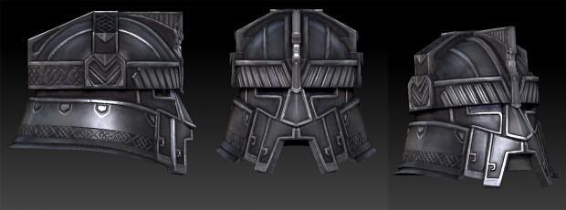 Dwarf helmet
