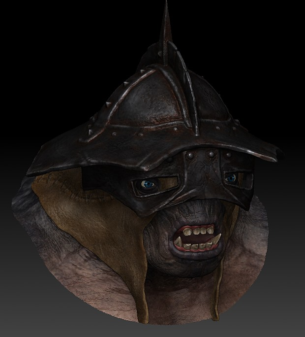Troll helmet